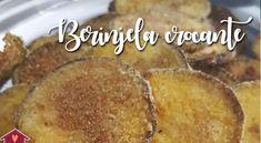 Sequinha, essa receita facílima de berinjela crocante é feita no forno! Fui injusta! Sempre digo que Low Carb Recipes, Vegetarian Recipes, Cooking Recipes, Healthy Recipes, Big Chefs, Great Recipes, Favorite Recipes, Love Food, Food And Drink