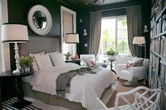 Grey Walls in Bedroom : I am seriously wanting to have gray walls in my master bedroom