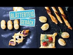 6 quick puff pastry ideas Sweet and savory fingerfood variants, Easy Puff Pastry Recipe, Snacks Für Party, Fiber Foods, Sweet And Salty, Different Recipes, Yummy Food, Stuffed Peppers, Eat, Breakfast