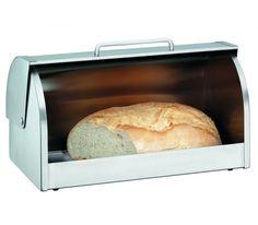 Chlebak Gourmet marki WMF pomoże zachować świeżość chleba, bułek, ciast oraz innych wypieków. Pojemnik jest praktyczny i funkcjonalny. Chlebak posiada szklane, przesuwne drzwiczki z uchwytem.