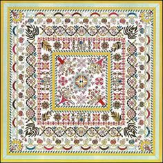 Showcasing the best in Free Quilt patterns, Free BOMs, art quilts, new designer fabrics and original designs all year round! Esther Aliu Quilt Artist & Teacher website is your new favorite quilting site! Quilt Border, Quilt Top, Crochet Christmas Wreath, Medallion Quilt, Design Blog, Design Ideas, Traditional Quilts, Quilt Patterns Free, Applique Quilts