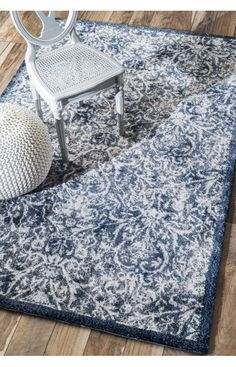 Rugs USA Serendipity 5118 Blue Rug.Rugs USA Fall Sale up to 80% Off! Area rug, rug, carpet, design, style, home decor, interior design, pattern, trends, home, statement, fall,design, autumn, cozy, sale, discount, interiors, house, free shipping, Halloween, fall decorations, fall crafts, fall décor, great winter, winter, warm, furniture, art.