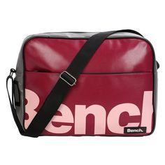 Bench Unisex Umhängetasche Echo Day Bag BMXA0453, 27 x 11 x 36 cm - http://herrentaschenkaufen.de/bench/bench-unisex-umhaengetasche-echo-day-bag-27-x-11-x
