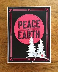 Stampin Up Carols of Christmas Card Idea - Mary Fish StampinUp