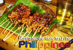 HORS d'OEUVRE. More Fun in the Philippines!