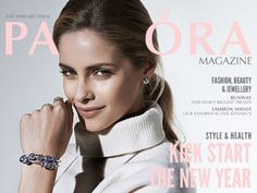 January issue of #PANDORAmagazine packed with trends, jewelry and inspiration for the month #free magazine