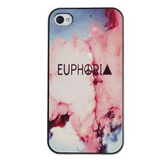 Smoke Pattern PC Hard Case with Black Frame for iPhone 4/4S – EUR € 2.75