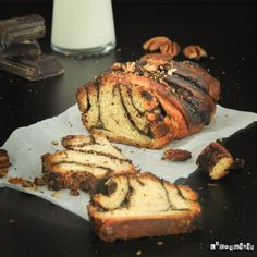 Brioche de chocolate y nueces | L'Exquisit