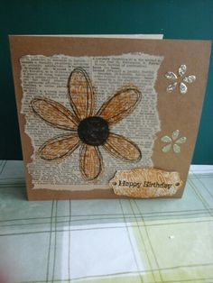 Stampin Up pick a petal Birthday card