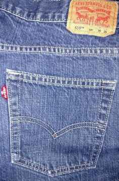 LEVI'S 550 Relaxed JEANS Boys HUSKY Size 10H 30 x 26 Medium Wash Straight Leg #Levis #Relaxed