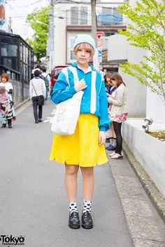 Iwamatu, 19 years old, student | 26 June 2015 | #Fashion #Harajuku (原宿) #Shibuya…