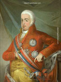 Domingos Sequeira Retrato de D. João VI, Rei de Portugal - Domingos Sequeira, painting Authorized official website