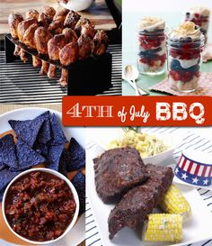 4th of July #Barbecue Ideas