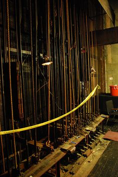 Los Angeles Theatre Backstage by Floyd B. Bariscale, via Flickr