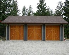 Three Car Garage