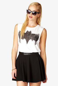 Batman™ Muscle Tee   FOREVER21 - 2049256900 - I would love to add this to my tee collection. #ForeverHoliday #Forever21 #wishlist