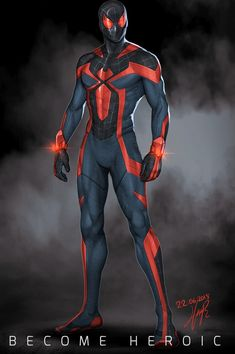 Rate suit from 1 to . By Hasan hüseyin Penekli . Hq Marvel, Marvel Comic Universe, Marvel Dc Comics, Marvel Heroes, Marvel Cinematic, Spiderman Suits, Black Spiderman, Spiderman Spider, Superhero Suits