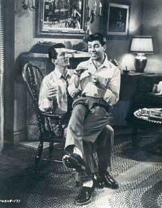 Martin and Lewis in a series of movies