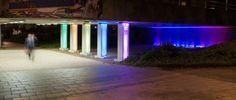 Iluminación Led RGB , sutil de colores suaves fijos, Sinapsis controls