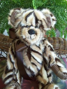 Fur Coats Recycled into Memory Bears by Create247 on Etsy