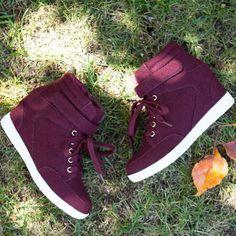 'Brenda' Fashion Wedge Sneakers