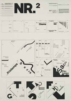 Wolfgang Weingart. Typographic Process, Nr 2. From Simple to Complex. 1973