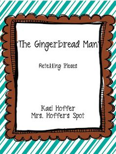 Freebie for The Gingerbread Man Retelling Pieces