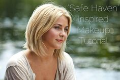 julianne hough short hair safe haven - Google Search- longer in front, shorter in back. My style but I like the length in front
