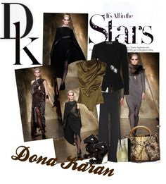 """""""It's all in the Stars - Dona Karan"""" by elenarodriguez-1 ❤ liked on Polyvore"""