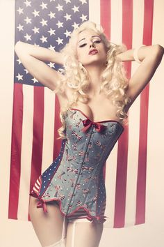 Corset Pin Up AUSTIN by Encorsetate on Etsy, €150.00