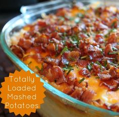 Totally Loaded Mashed Potatoes Recipe