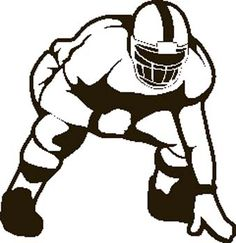 image result for lineman football player vector clipart senior rh pinterest co uk lineman clip art silhouette power lineman clipart