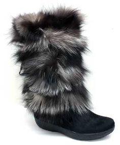 "shopstyle.com: Tecnica ""Yaghi 3"" Black Fur Winter Boots"