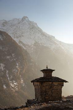 "satakentia: "" Old Ghumba Langtang Valley, Nepal by Joshua Windsor """