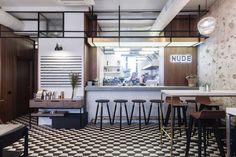 Nude. Coffee & Wine Bar by FORM Bureau | Yellowtrace