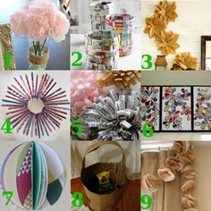 9 #Crafts with Recycled Paper