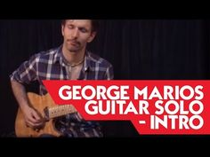 George Marios Guitar Solo - Intro - Tronnixx in Stock - http://www.amazon.com/dp/B015MQEF2K - http://audio.tronnixx.com/uncategorized/george-marios-guitar-solo-intro/