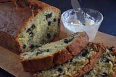 Why settle for plain zucchini or blueberry bread when you could combine the two?