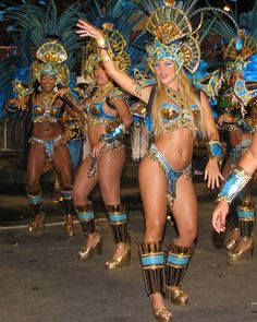 """Samba: """"Brazil's most famous musical style is a dance as well as rhythms, involving stationary waists and hips and very fast leg and feet movements."""" Read more in Bahia: The Bradt Guide www.bradtguides.com"""