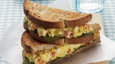 Curried Egg Salad Sandwich | The curry adds a health-promoting antioxidant jolt to this traditional comfort dish.