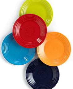 """I'd like to get these 9"""" Fiesta Lunch plates. The dinner plates make portion control difficult and I find myself using saucers whenever possible."""