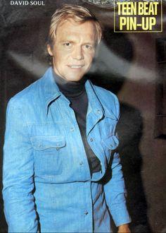 David Soul - Teen Beat - August, 1976