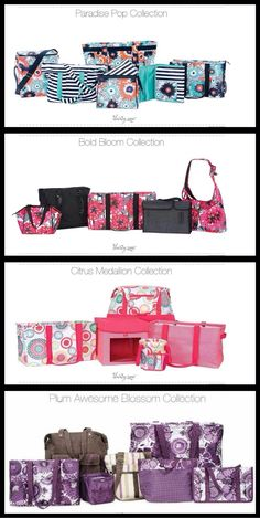 Thirty-One's New Spring 2014 Line. I Love the New Coral Collection. www.MyThirtyOne.com/AliRamey31