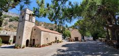 Kirchen, Travelling, Mansions, House Styles, Home Decor, Mosque, Crete, Temples, Decoration Home
