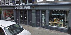 Duikelman Ferdinand Bolstraat Amsterdam