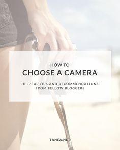Cameras for bloggers