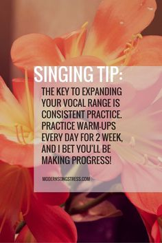 singing tips to extend vocal range