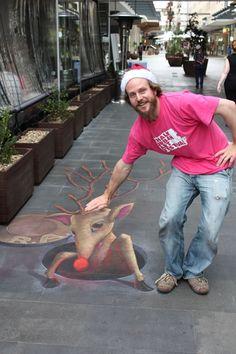 Sidewalk Chalk Art - Bing Images