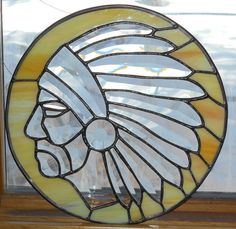 Items similar to warrior stained glass, on Etsy Faux Stained Glass, Stained Glass Projects, Stained Glass Patterns, Tiffany Art, Tiffany Glass, Wooden Crosses, Cd Art, Stained Glass Suncatchers, Through The Looking Glass