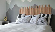 cabeceira de cama Home Goods Decor, Home Decor, Headboards For Beds, Minimalist Bedroom, Diy And Crafts, Toddler Bed, Sweet Home, Interior Design, House
